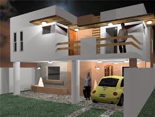 D arquitectura dise o construcci n dise o y construccion for Proyecto casa habitacion minimalista