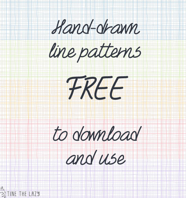 hand-drawn line patterns (free)