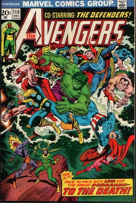 The Avengers #118, the Defenders, Dormammu and Loki