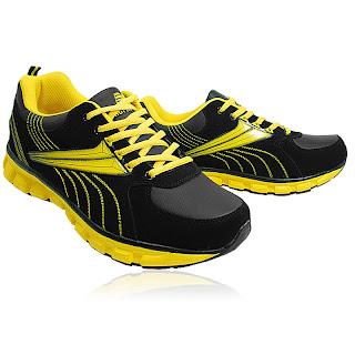 Freeshipping Men's runarpower Running Shoes/athletic/walking shoes /Black-Blue