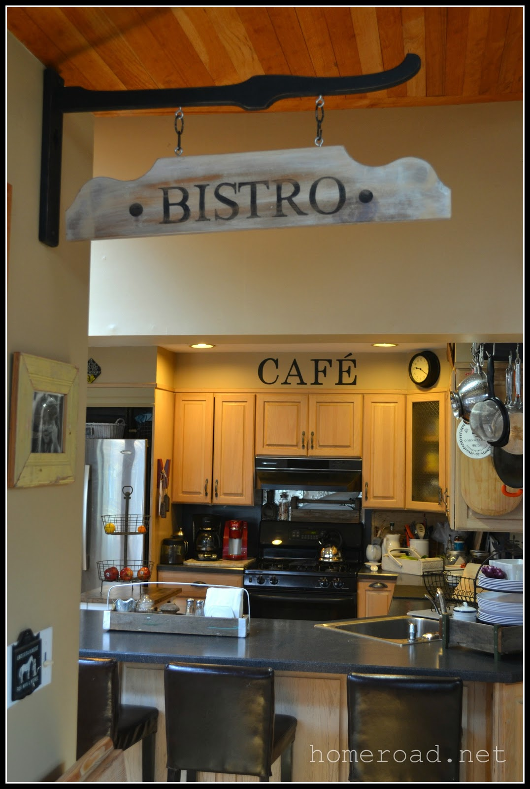 Hanging Bistro Sign Www Homeroad Net