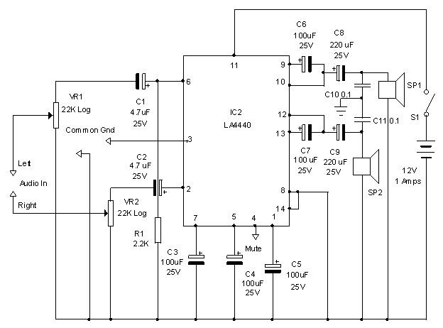 world technical circuit two channel audio power amplifier stereo rh worldtechnical blogspot com