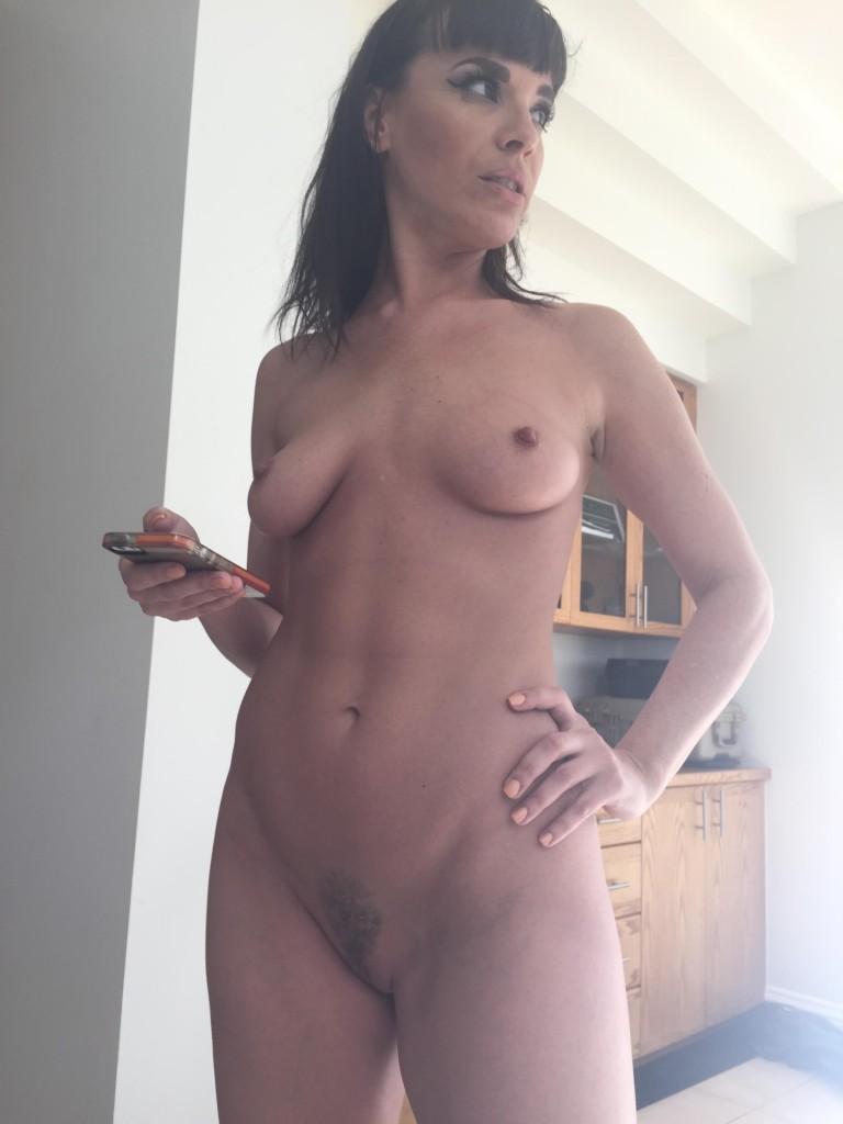 Dana dearmond sexy big tits playing with hairy pussy 6