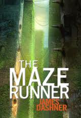 Book cover of the Maze Runner by James Dashner