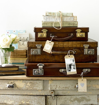 Exceptional Iu0027ve Always Loved Vintage Luggage. Incorporating Them Into Your Home Gives  Your A Space A  Photo