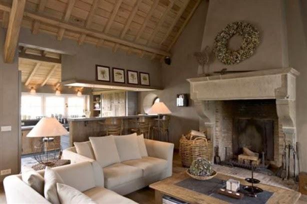 Keuken Planken Inrichten : Inrichten woonkamer met open keuken : Loft woonkamer met stoere open