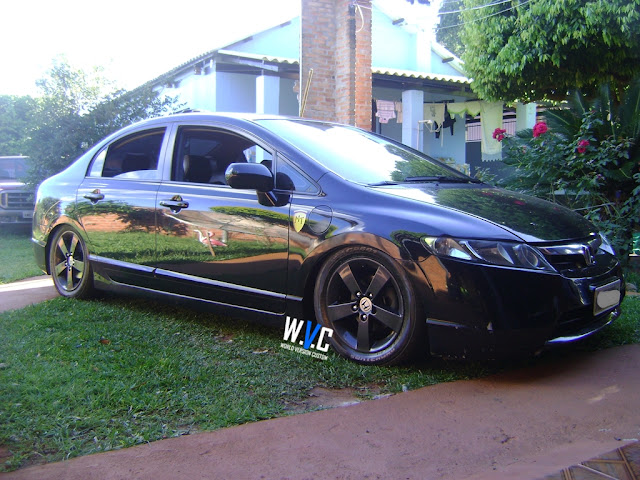 New Civic com rodas aro 16""