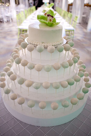 Wedding Cake Pops 24 Spectacular Photo by Captured Photography