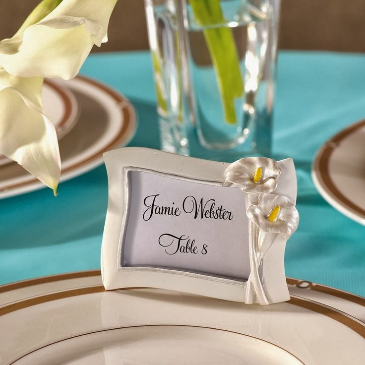 Memorable Wedding Calla Lily Wedding Favors And Decorations