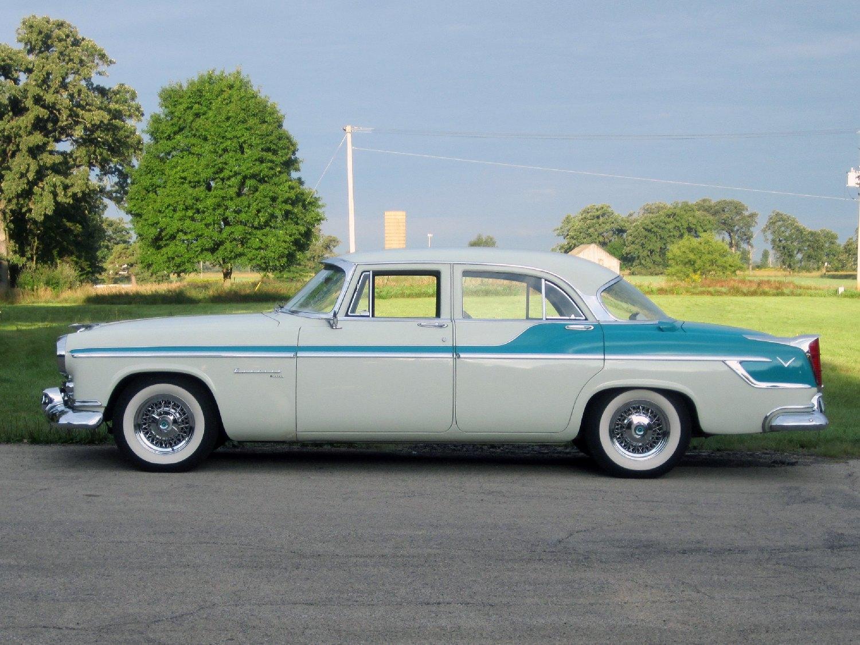 All american classic cars 1955 chrysler windsor deluxe 4 for 1957 chrysler windsor 2 door hardtop