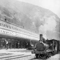 'Estació de Canfranc, 1928'