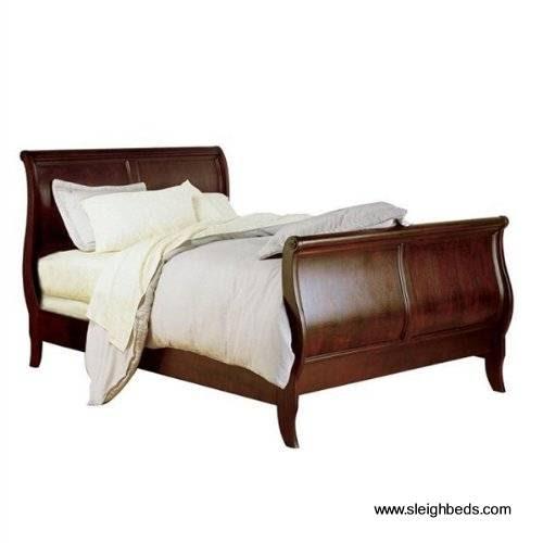 Arquitectura de casas camas trineo hechas de madera for Trineo madera decoracion