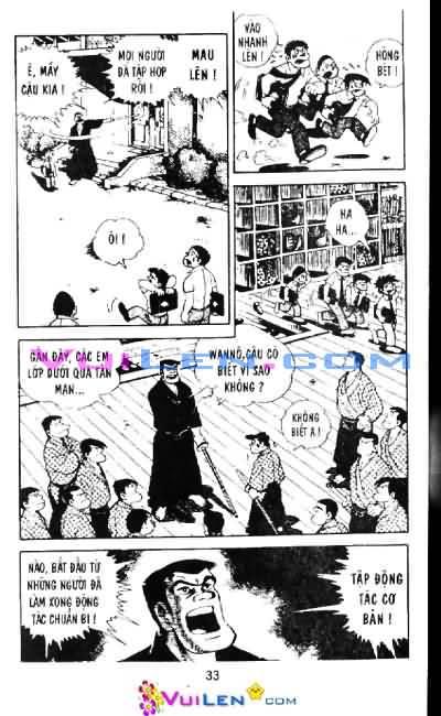 Siêu quậy Teppi chap 6 - Trang 33
