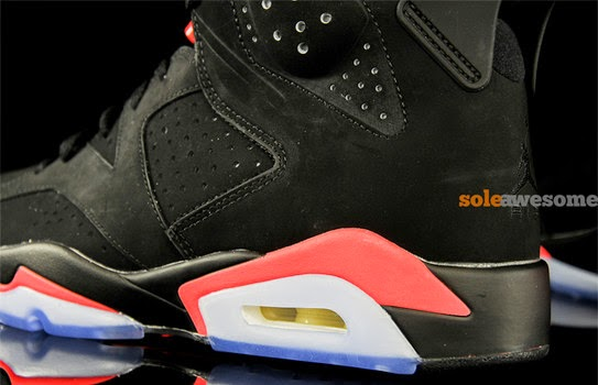 outlet store f802b 6aaa6 air jordan 6 black infrared