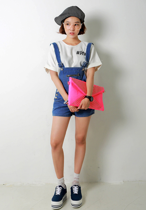 Yubsshop Denim Short Overalls Kstylick Latest Korean Fashion K Pop Styles Fashion Blog