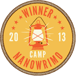 Camp NaNoWriMo Winner April 2013