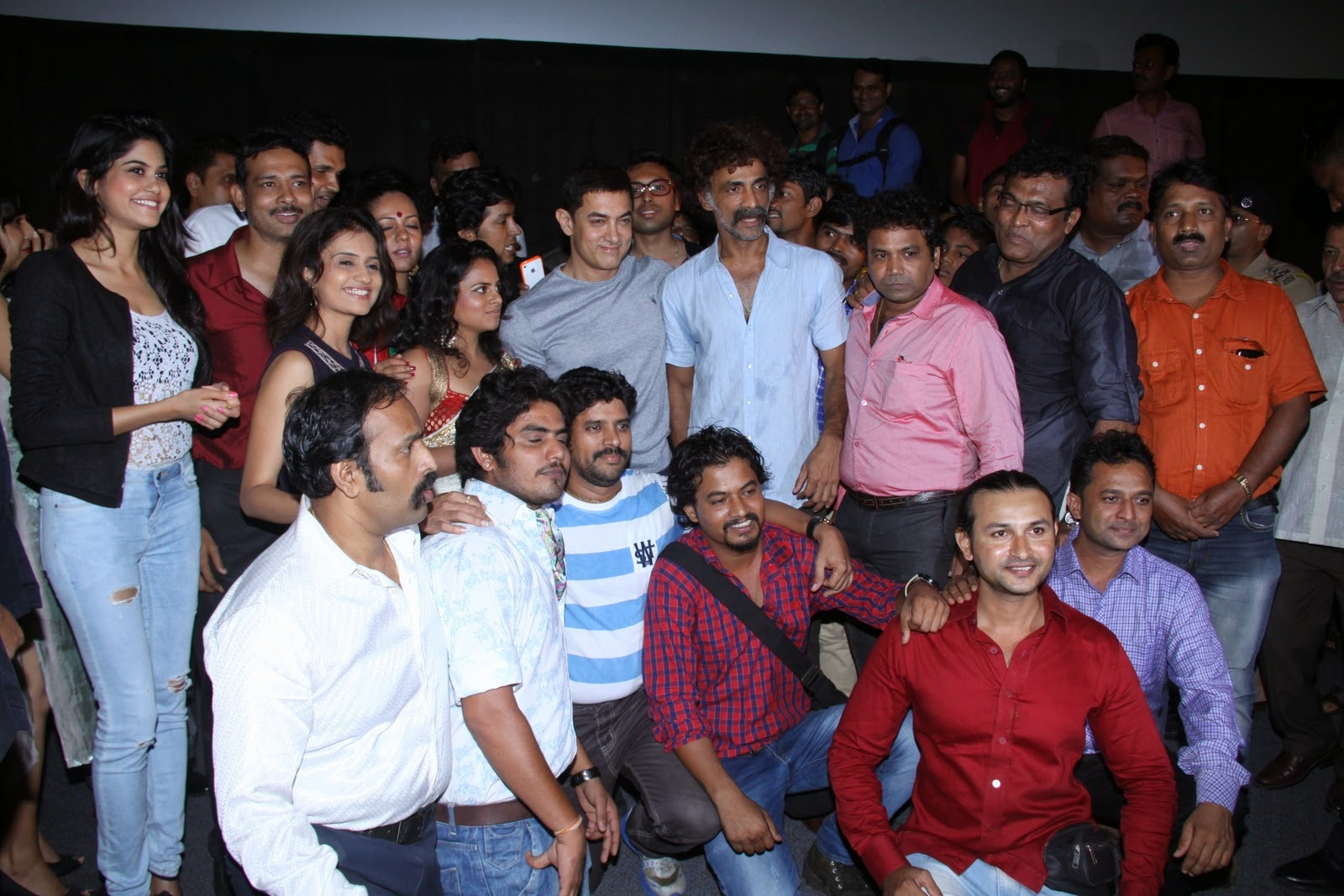 Aamir Khan at the special screening of 'Saturday Sunday'