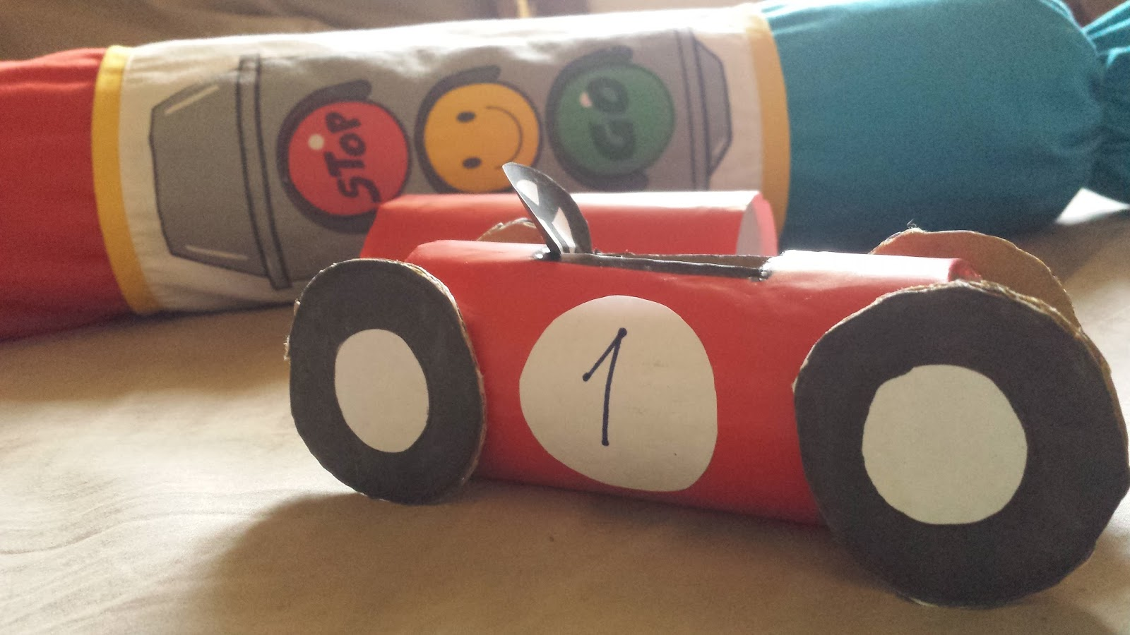 Diy Recycled Toilet Paper Roll Race Car