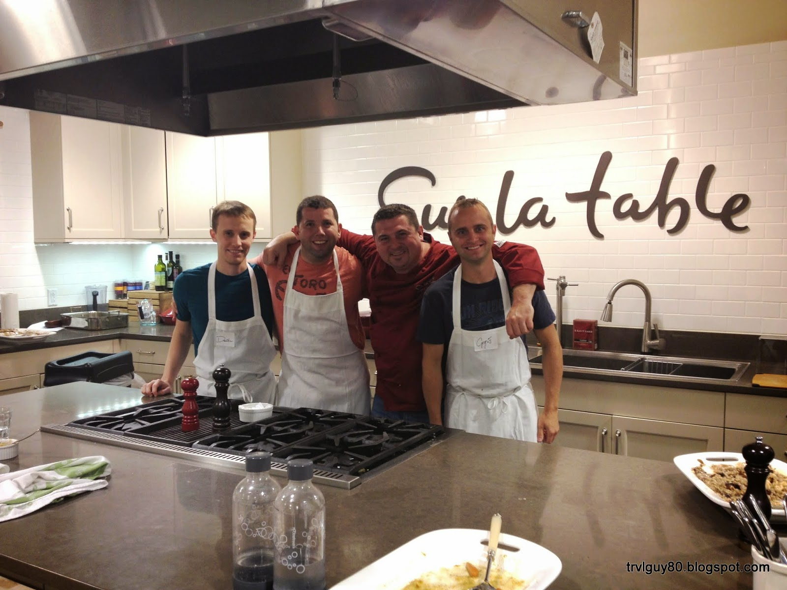 The Andrew Project Task 42 Take a cooking class Sur La Table