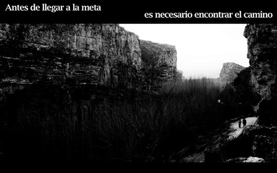 incompleto,camino,meta,final,paisaje,javi,lara,javier