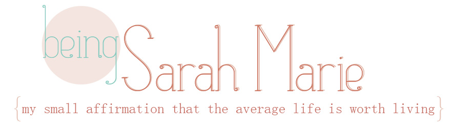being sarah marie