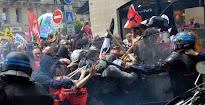 La huelga en Francia provoca escasez de combustible y amenazas de cortes de luz