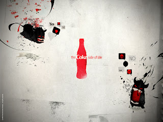 Coca Cola Inspirational Design HD Wallpaper