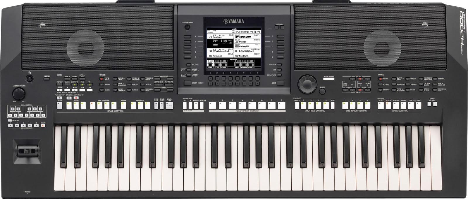 Harga Yamaha Keyboard Tyros