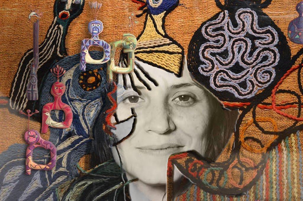 Violeta Parra - Arte correo ©EG