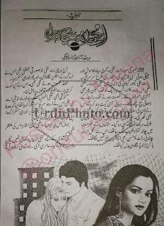 Junoon dasht hay ke manzil by Memona Khurshid - Junoon Dasht hai ke Manzil by Maimoona Khursheed