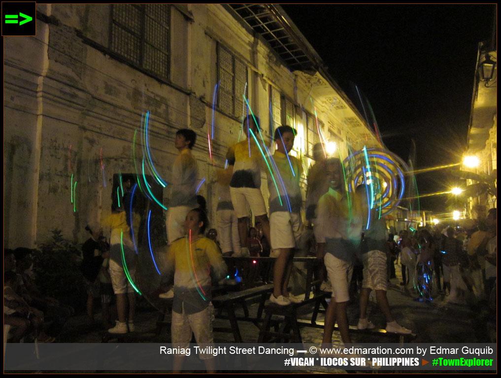 RANIAG TWILIGHT FESTIVAL STREET DANCING ► VIGAN