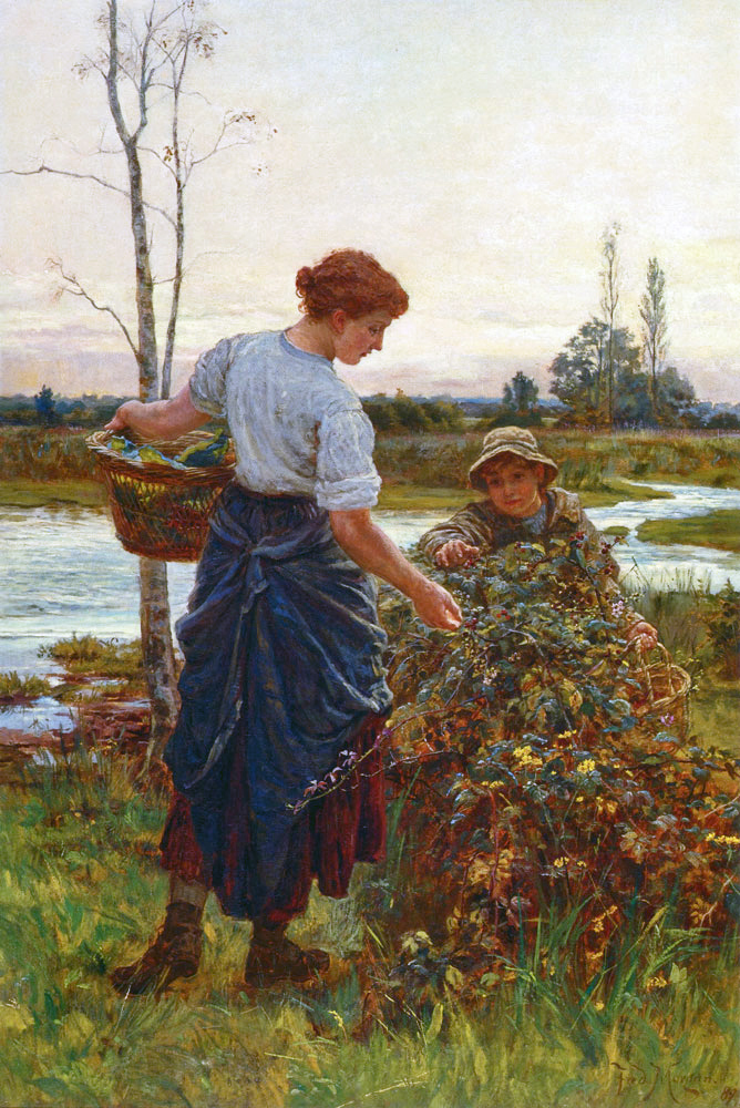victorian british painting  frederick morgan