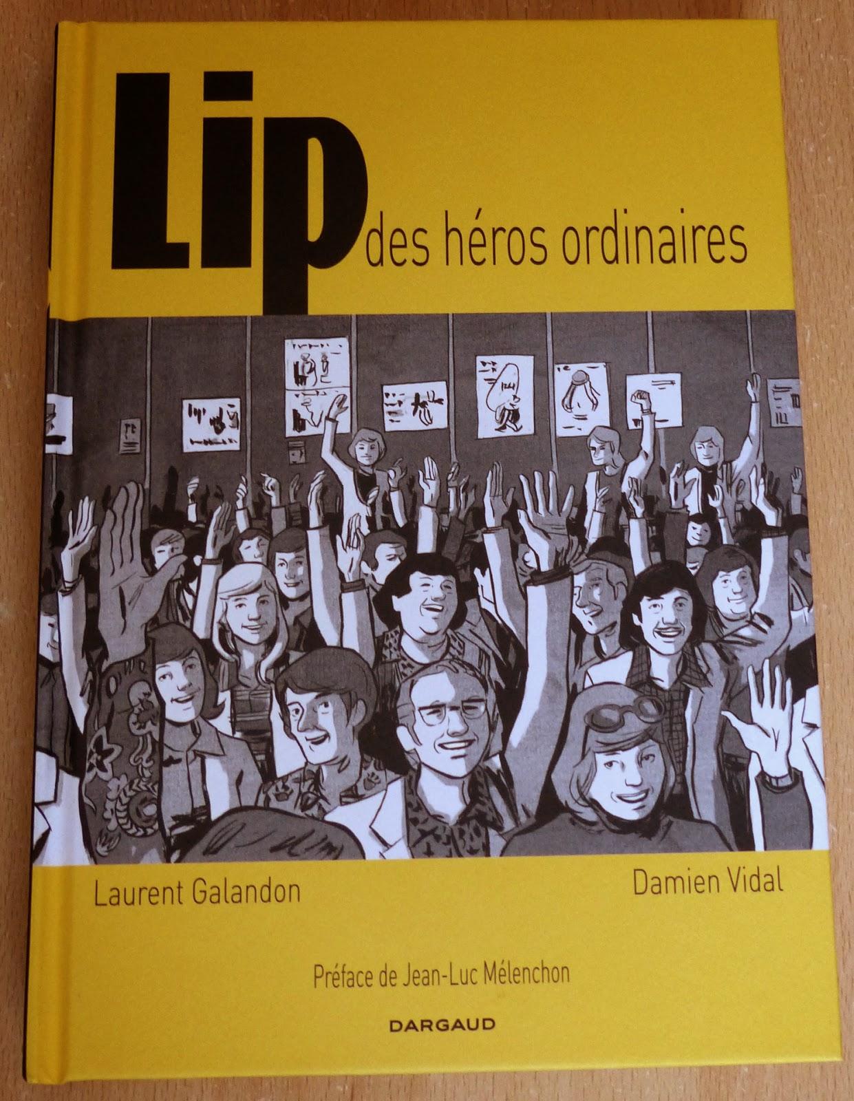 bande dessinée Lip des héros ordinaires