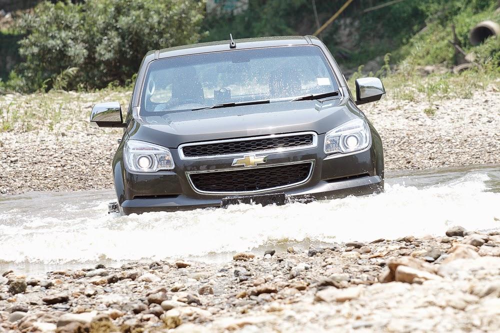 Chevy Colorado Endures Five Water Intrusion Tests
