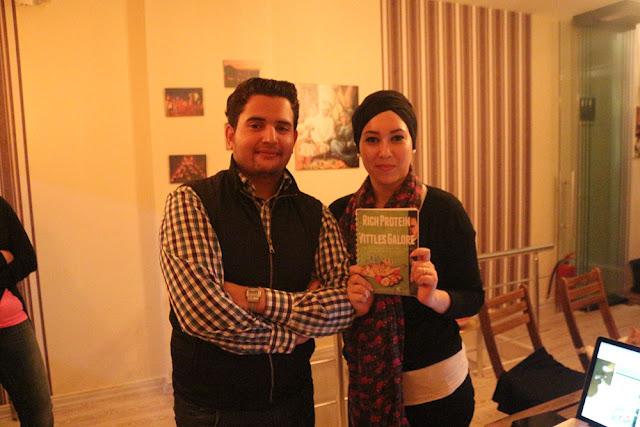 Nourddine Khiti presenting his book