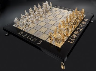 art of war chess set chesscraft