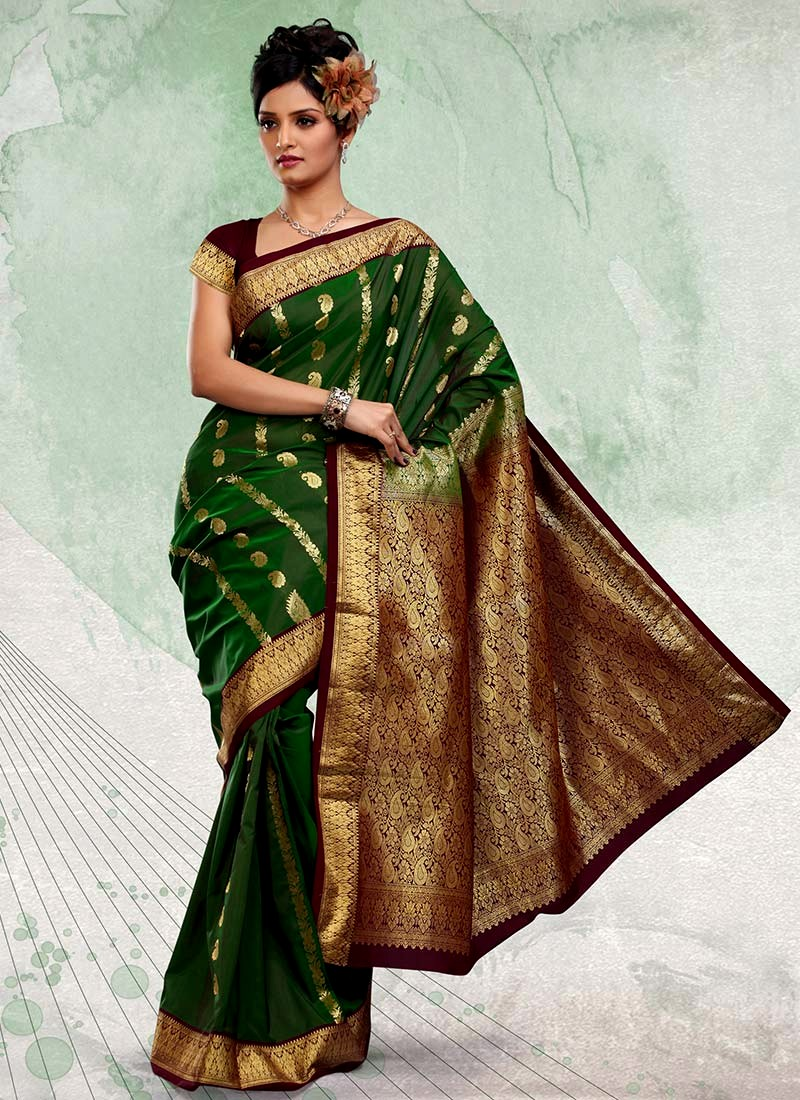 New dress collection for diwali for women - Latest Sparkling Diwali Collection 2012 Traditional Saree Collection For Diwali Festival