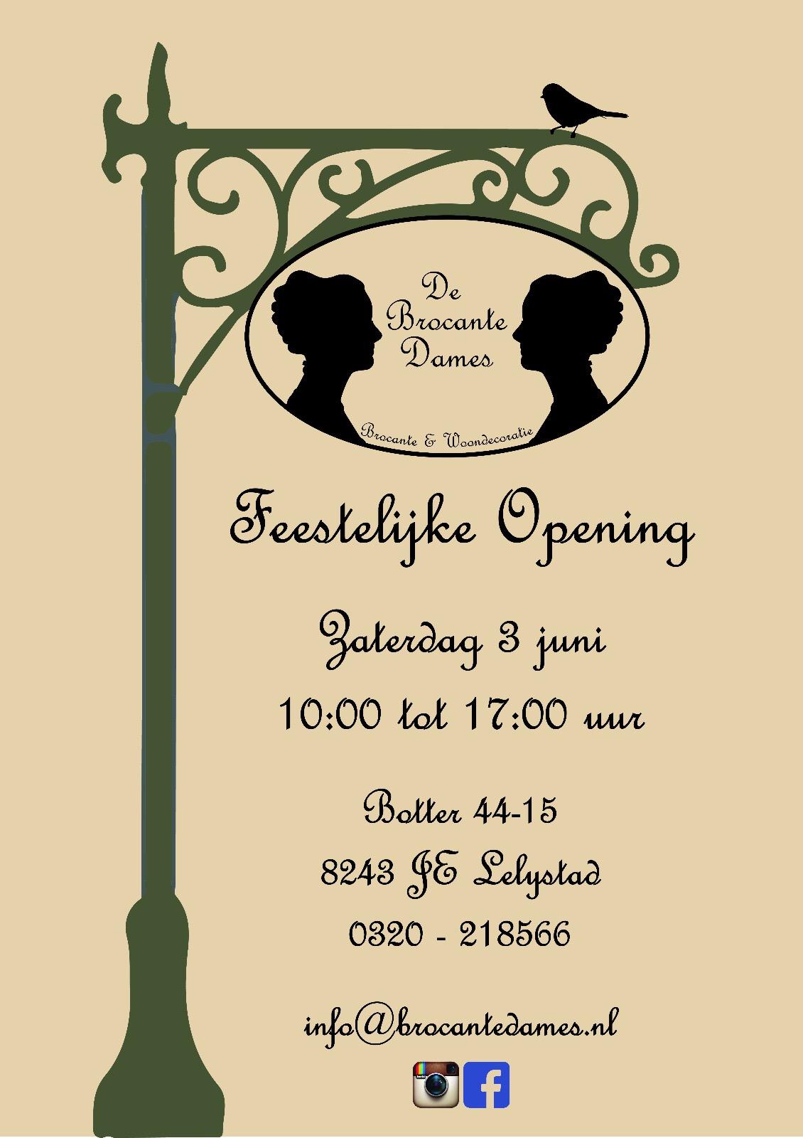 Opening De Brocante Dames