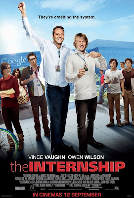 The Internship movie poster large malaysia