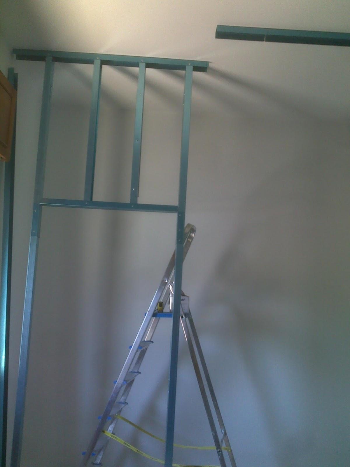 Sweet Home... Work in progress: Cartongesso: cabina armadio