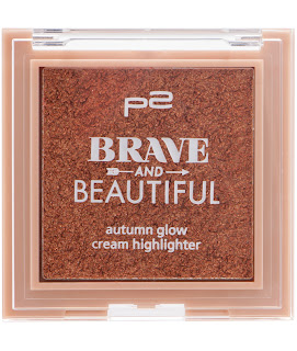 Preview: p2 Limited Edition: Brave and Beautiful - autumn glow highlighter - www.annitschkasblog.de