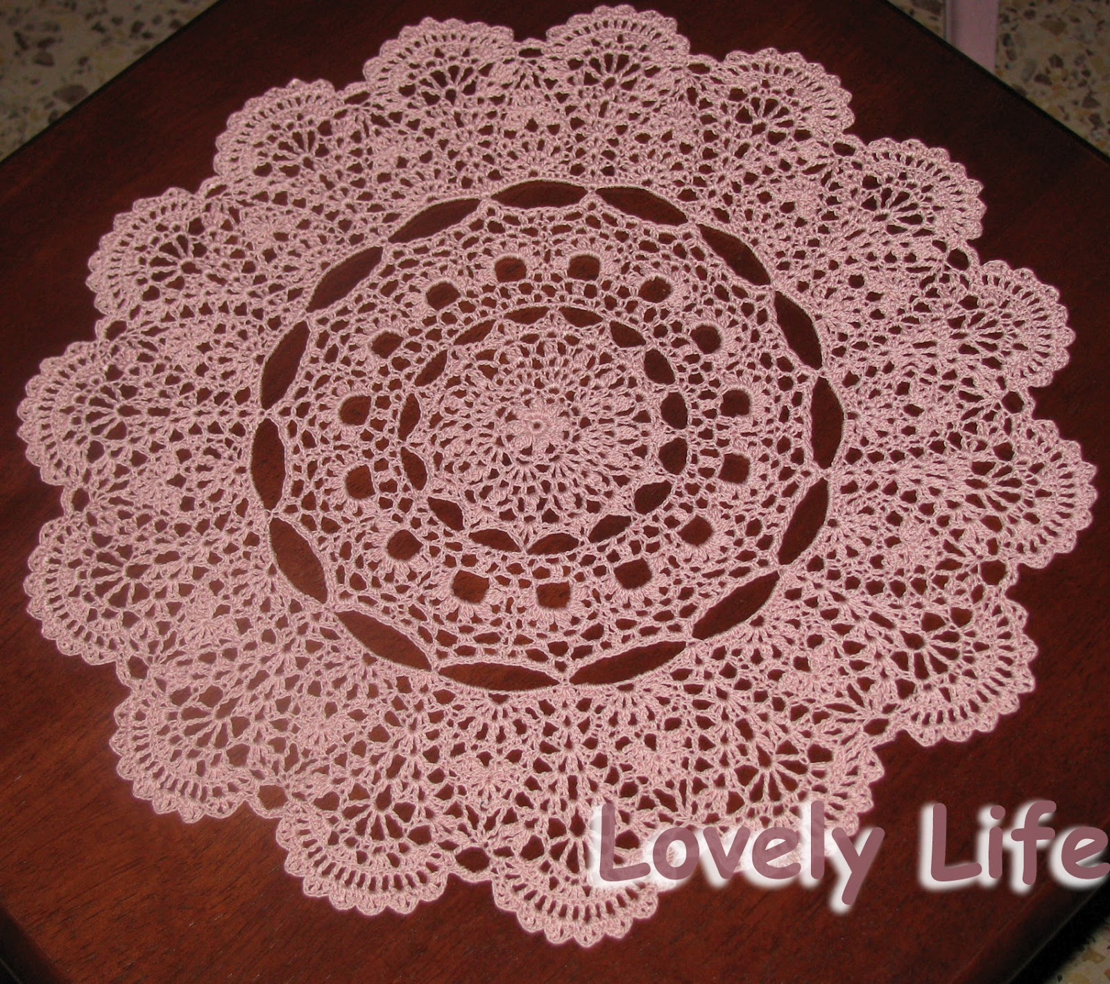 Mantilla doily free crochet pattern squareone for mantilla doily pattern images mantilla doily free crochet bankloansurffo Images