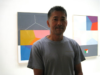 akira kubo abstract painting and kiwame kubo