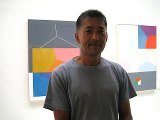 akira kubo abstract painting and kiwame kubo