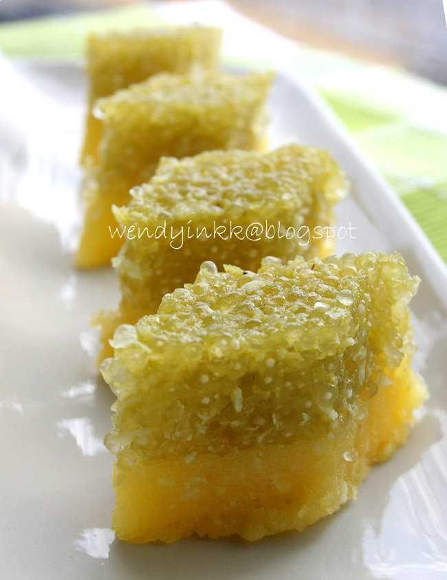 Steamed Cassava Cake Recipe