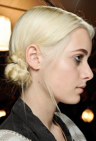 peinados rodetes trenzados 2013