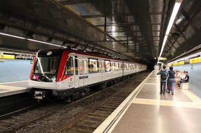 metro Barcelona línea amarilla L4
