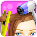 Princess Hair Salon - Girls Games App iTunes App Icon Logo By George CL - FreeApps.ws