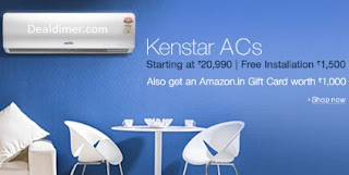 Kenstar-split-air-conditioners-free-rs-1000-amazon-gift-card