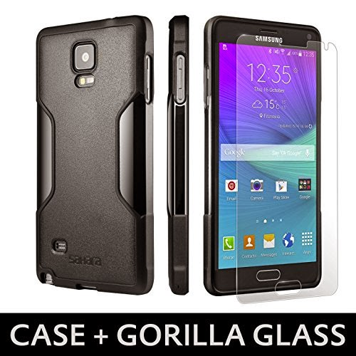 Slim Samsung GALAXY Note 4 Case Scorpion Black